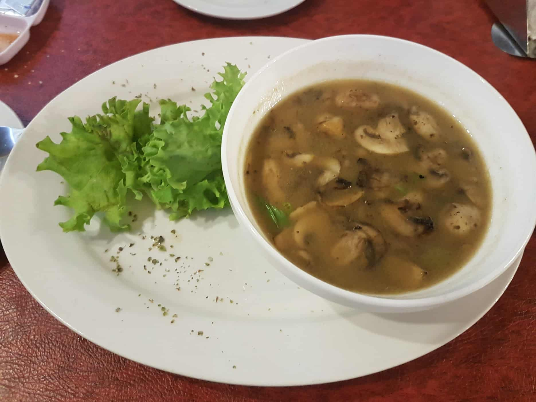 """Girls Who Travel   Mushroom Soup and """"salad"""" in Santiago de Chile"""