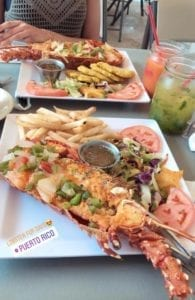 Girls Who Travel | Seafood dinner in Puerto Rico