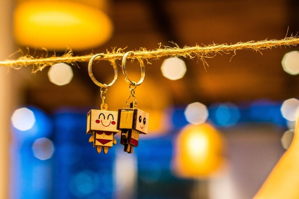 shallow focus photography of keychains  scaled