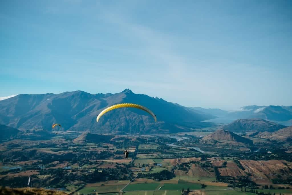 Girls Who Travel | Gliding in Queenstown, New Zealand